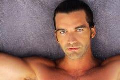Beautiful man Royalty Free Stock Image