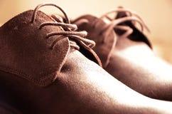 Beautiful man shoes Stock Photography