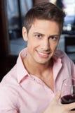 Beautiful man smiling Stock Photos