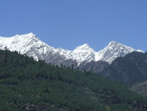 Beautiful Manali heights Royalty Free Stock Photo