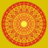 Beautiful Mandala Background EPS10 Vector Royalty Free Stock Photography