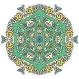 Beautiful mandala. Round ornamental pattern. Stock Photos