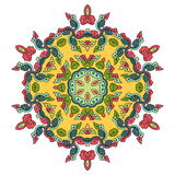 Beautiful mandala. Round ornamental pattern. Stock Image