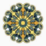 Beautiful mandala, tribal ethnic ornament. vector illustration Stock Photography