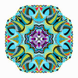 Beautiful mandala, tribal ethnic ornament. vector illustration. (vector eps 10 stock illustration
