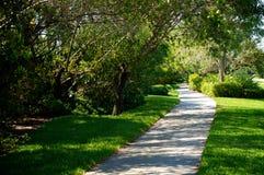 Beautiful manicured bike path Stock Photos