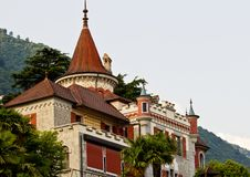 Beautiful manour house in Locarno Royalty Free Stock Images