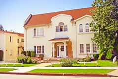 Beautiful mansion 1 of 5 Royalty Free Stock Images