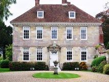 Beautiful Mansion and Garden stock photography