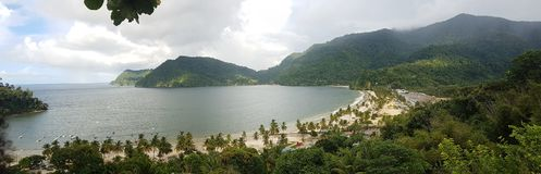 Beautiful Maracas Bay royalty free stock photo