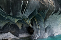 Beautiful marble caves Stock Photos