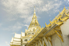 Beautiful marble church/temple Wat Sothorn. Stock Images