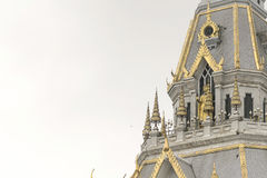Beautiful marble church/temple Wat Sothorn, Thailand. Stock Photography