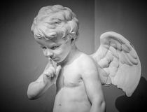 Free Beautiful Marble Statue Of Angel Stock Image - 66928211