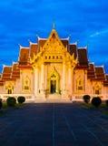 Beautiful marble temple Stock Photos