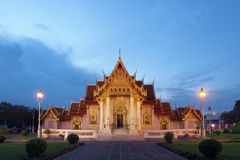 Beautiful marble temple Royalty Free Stock Photos