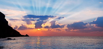 Beautiful marine. stock image