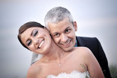 Beautiful married couple Royalty Free Stock Images