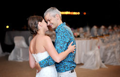 Beautiful married couple Stock Images
