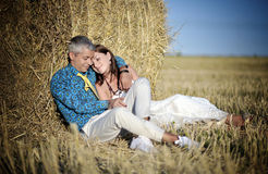 Beautiful married couple Royalty Free Stock Image
