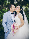 Beautiful married couple Stock Image