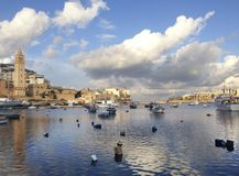 Beautiful Marsascala - small city in Malta Royalty Free Stock Photography