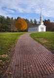 Beautiful Martha Mary Chapel. Located in the Longfellow's Wayside Inn. It's located in Sudbury, MA Royalty Free Stock Photos
