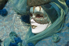 Beautiful mask at carnival in Venice Royalty Free Stock Image