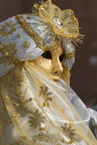 Beautiful mask at carnival in Venice Stock Photo