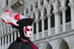 Beautiful mask at carnival in Venice Stock Image