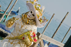 Beautiful mask in venice Stock Photo