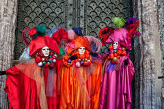 Beautiful Masks at Carnival in Venice, Italy Stock Photos