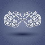 Beautiful Masquerade Mask (Vector) Stock Photography