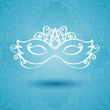 Beautiful Masquerade Mask (Vector) Royalty Free Stock Photos