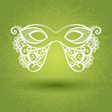 Beautiful Masquerade Mask (Vector) Stock Photo