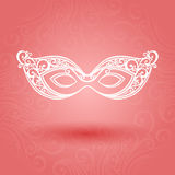 Beautiful Masquerade Mask (Vector) Royalty Free Stock Image