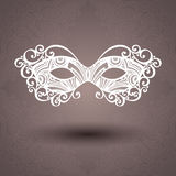 Beautiful Masquerade Mask (Vector) Royalty Free Stock Images