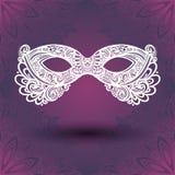 Beautiful Masquerade Mask (Vector) Stock Images