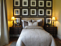 Beautiful Master Bed Room Royalty Free Stock Image