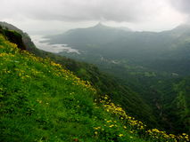 Beautiful Matheran landscape Stock Photos