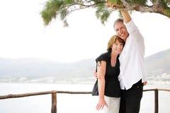 Beautiful mature couple Royalty Free Stock Photography