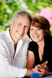Beautiful mature couple Royalty Free Stock Photography