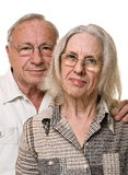 Beautiful mature couple Stock Photography