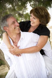 Beautiful Mature Couple In Love Royalty Free Stock Photography