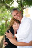 Beautiful mature couple in love Royalty Free Stock Images
