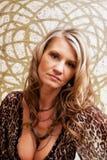 Beautiful mature woman. Fashion portrait Stock Photo
