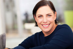 Beautiful mature woman Royalty Free Stock Photography