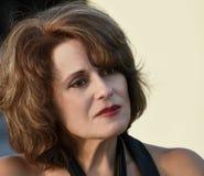 Beautiful Mature Woman Stock Photography