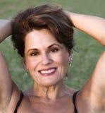 Beautiful Mature Woman Royalty Free Stock Image