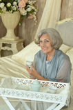 Beautiful mature woman Stock Photography